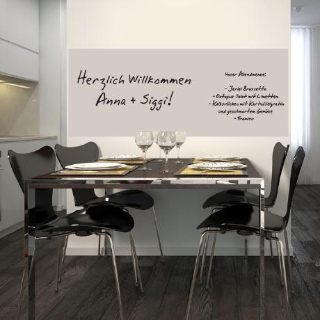 Selbstklebende magnetische Whiteboardfolie_110x80cm Hellgrau